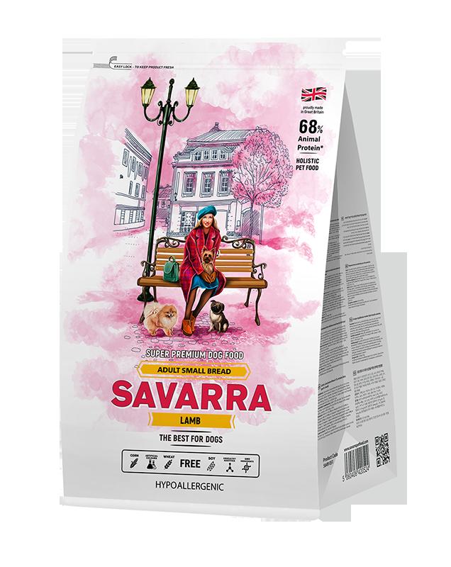 Savarra (САВАРРА) КОРМ ДЛЯ СОБАК МЕЛКИХ ПОРОД ЯГНЕНОК 6 КГ