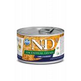 Farmina N&D Dog ANCESTRAL GRAIN Корм для взрослых собак мелких пород, Ягненок и черника, 140 гр