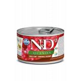 Farmina N&D Dog Quinoa SKIN&COAT корм  для собак, Оленина и кокос, 140гр