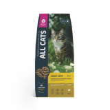 All Cats (ОЛ КЭТС) Корм для кошек КУРИЦА 2,4 кг