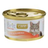 Brit Care Консервы для кошек Куриная грудка 80 гр