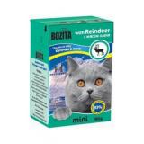Bozita Tetra Pac mini Корм для кошек желе Олень 190 гр
