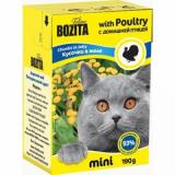 Bozita Tetra Pac mini Корм для кошек желе Птица 190 гр