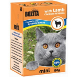 Bozita Tetra Pac mini Корм для кошек желе Ягненок 190 гр