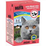 Bozita Tetra Pac mini Корм для кошек соус Мясной коктейль 190 гр