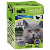 Bozita Tetra Pac mini Корм для кошек соус Утка 190 гр