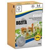 Bozita Tetra Pac mini Корм для котят желе Курица 190 гр