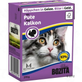 Bozita Tetra Pac Feline Корм для кошек кусочки в желе Индейка рубленная 370 гр