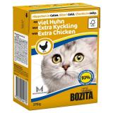 Bozita Tetra Pac Feline Корм для кошек кусочки в желе Курица 370 гр