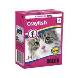 Bozita Tetra Pac Feline Корм для кошек кусочки в желе Лангуст 370 гр