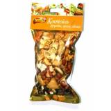 Хрумка Коктейль фрукты орех лакомство для шиншилл и кроликов 150 гр