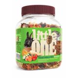 Little One Овощная смесь лакомство для грызунов 150 гр