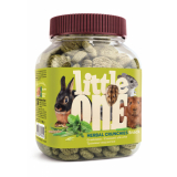 Little One Травянные подушечки лакомство для грызунов 100 гр
