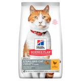 Hill's Science Plan для стерилизованных кошек в возрасте 6 месяцев - 6 лет, с курицей 10 кг