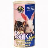 Вака Люкс корм для кроликов и шиншил 800 гр