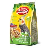 Happy Jungle корм для средних попугаев при линьке 500 гр