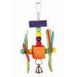 Fauna Игрушка для птиц Цветные пропеллеры