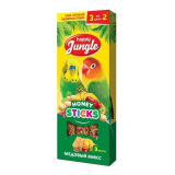 Happy Jungle палочки для птиц медовый микс 3 шт