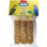 Батончики медовые Жорка Кунжут (3шт) лакомство для для попугаев