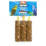 Батончики медовые Жорка Рыбий жир (3шт) лакомство для попугаев