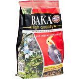 Вака High Quality для средних попугаев, пакет, 500 гр