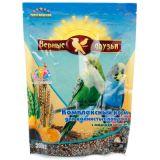Верные Друзья, корм для волнистых попугаев Морская капуста 500г
