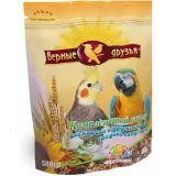 Верные Друзья, корм для средних попугаев, 500 гр