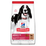 Hill's Science Plan Для взрослых собак средних пород с ягненком и рисом 2,5 кг