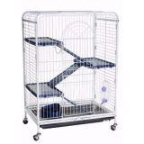 Клетка для грызунов Н430 3-этажная пластиковый поддон (38*26*38)