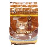 Сибирская Кошка для котят впитывающий 3л