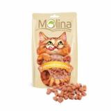 Molina Лакомства Куриные кусочки для кошек 80 гр