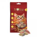 "Molina Лакомства Mix ""Поцелуйчики""  для кошек 35 гр"
