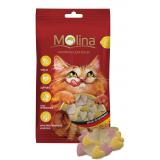 "Molina Лакомства Mix ""Сердечки""  для кошек 35 гр"