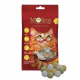 Molina Лакомства Mix дичь,маскарпоне,травка для кошек 35 гр