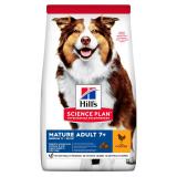 Hill's Science Plan Для пожилых собак средних пород с курицей 7+ 12 кг