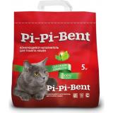 """Pi-Pi-Bent Комкующийся наполнитель """"Сенсация свежести"""" (пакет) 5 кг"""