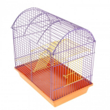 Клетка для грызунов РТД №В200 полукруглая 2-этажная 33*23*26