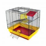 Клетка для грызунов РТД №513 2-этажная укомплектованная 47*30*37
