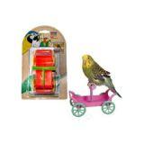 Penn Plax Тележка с жердочкой игрушка для попугая