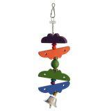 Triol Игрушка-подвеска для птиц Бабочки 082-КХ 25*5 см