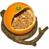 Penn Plax Кормушка для птиц внутренняя Апельсин напольная