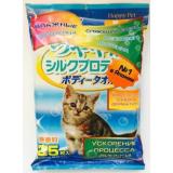 Полотенца влажные для кошек 25 шт Базовый уход Япония