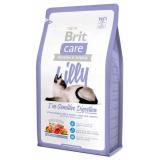 Brit Care Lilly Корм для кошек беззерновой с чувствительным пищеварением Ягненок Лосось 2 кг