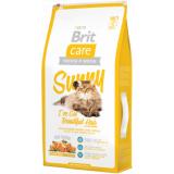 Brit Care Sunny Корм для длинношерстных кошек Лосось Рис 7 кг