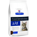 Hill's Prescription Diet Z/D для кошек для лечение острых пищевых аллергий 2 кг