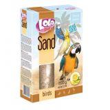 LO-72071 Песок для птиц лимонный 1,5 кг