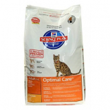 Hill's Science Plan Для взрослых кошек c курицей 15 кг