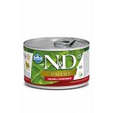Farmina N&D Dog PRIME корм для взрослых собак мелких пород, Курица и гранат, 140 гр