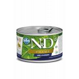 Farmina N&D Dog PRIME корм для взрослых собак мелких пород, Ягненок с черникой, 140 гр