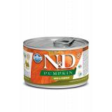 Farmina N&D Dog PUMPKIN корм для взрослых собак мелких пород, Утка с тыквой, 140 гр